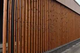 private house in bressanone italia skirpus exterior movable vertical wooden louvers siberian larch wood motorized operation