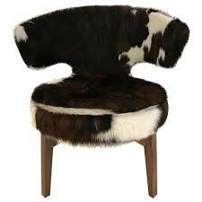 cowhide accent chair fice ficefaux cowhide fabric accent chair cowhide accent chair