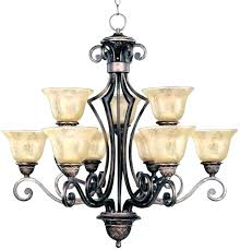 franklin iron works amber scroll wide chandelier s and irons alder