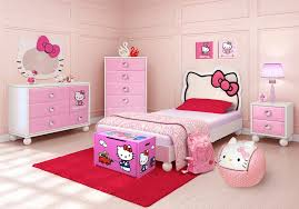 Hello kitty furniture for teenagers Set Rooms To Go Kids Hello Kitty Twin Bedroom Girls Bedroom Sets Colors
