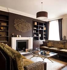 ... Dark Brown Living Room Decorating Ideas Deluxe Brown Living Room ...