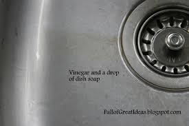 vinegar and dish soap