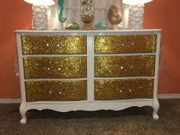 sparkly bedroom furniture. Diy Glitter Dresser Inside Sparkly Bedroom Furniture