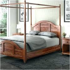 twin wood canopy bed – mizunowa.info
