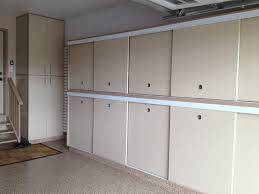 slotwall floor custom cabinets sliding doors building built in garage cabinets