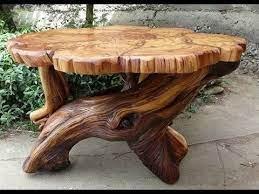 Veja mais ideias sobre mesa de tronco, moveis de madeira, mesa de tronco de árvore. Mesa Com Base De Tronco De Arvore Youtube