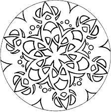Small Picture Mandalas Coloring Pages