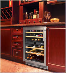 Cabinet With Wine Cooler Under Cabinet Wine Cooler Dimensions Inspirations Home Furniture