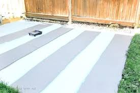 how to paint an outdoor rug this light stripe you see is still the primer we how to paint an outdoor rug