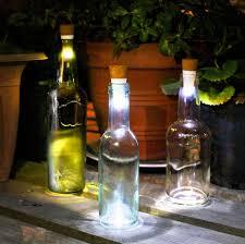 Wine Bottle Lamp Diy Diy Wine Bottle Lights A Unique Way To Upcycle Empty Wine