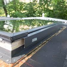 remove the skylight cladding