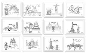 Travel Calendar Kids Travel Calendar 2016 Printable