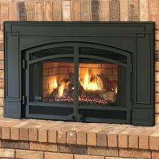 wood burning fireplace units continental gas fireplace natural vent insert w surround er logs corner unit wood burning fireplace