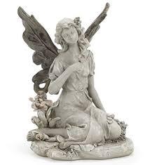 garden fairy statues. Sitting Garden Fairy Statues