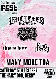 Alt Design Derby Derby Alt Brothers Till We Die Uk Fest This Is Hate