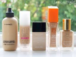 my top 5 foundations best foundations for dry skin