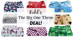 Kohls Throw Blankets Mesmerizing LOWEST PRICE The Big One Fleece Plush Blankets Just 3232