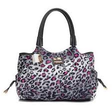 Discount Coach Leopard Logo Medium Pink Totes DZZ Clearance
