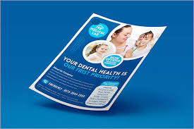 Sample Of Flyer 31 Dental Flyer Templates Free Design Examples