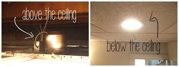 can light installation recessed