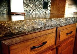 granite countertop edge styles