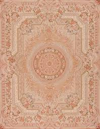8 x 10 hand woven wool french aubusson rug