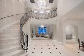 decoration white interior color for majestic entryway ideas