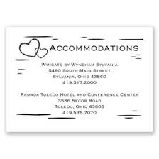 how to word hotel accommodations for wedding invitations wedding accommodation cards invitations by dawn