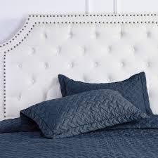 Amazon.com: Quilt Set Solid Navy Blue Full/Queen(86 x96 ... & Amazon.com: Quilt Set Solid Navy Blue Full/Queen(86