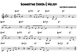 Summertime Backing Track And Free Chord Chart