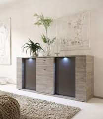 italian contemporary sideboard buffet with led lights santa ana