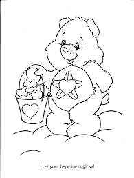 Small Picture Care Bear Coloring Sheets Colouring Pages Free Coloring Pages