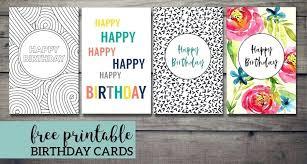 Online Printable Birthday Cards Printable Bday Card Happy Birthday Flower Printable Birthday