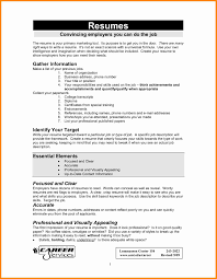 100 Basic Resume Outline Templates Resume Template Example