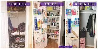 transform a coat closet into a pantry and then back into a coat closet