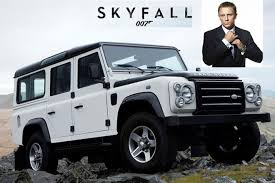 It Has Decided To Commemorate 50 Years Of James Bond At Mega Automobile  Event By Showcasing One The Land Rover ... R
