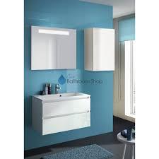 Allibert Bathroom Cabinets Alma Wastafelonderbouwmeubel 80 Cm Deuren