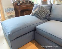 Unique Sectional Slipcovers Canvas Slipcover For Chaise And Design Decorating