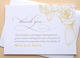 Thank You For Sympathy Card Thank You Notes For Flowers Funeral Flowers Healthy