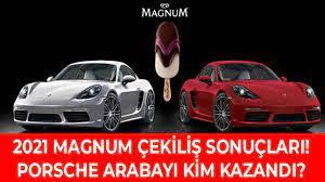 Magnum Çekiliş Sonuçları 2021! Porsche Taycan 4S Elektrikli Çekilişi Ne  Zaman Yapılacak?