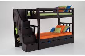 Keystone Stairway Bunk Bed With Storage/Trundle Unit