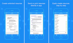 Resume App Awesome Best IPhoneiPad Apps To Create Your Résumé To Land The Next Big Job