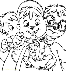 alvin and the chipmunks coloring pages 14 with alvin and the chipmunks coloring pages