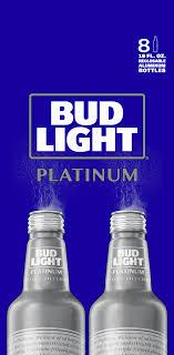Bud Light Platinum Font Bud Light Platinum Beer 8 Pack 16 Fl Oz Aluminum Bottles