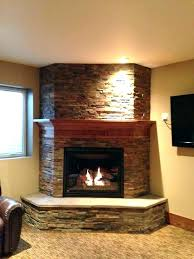 stacked stone electric fireplace corner stone electric fireplace corner electric fireplace