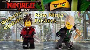 Lego Ninjago Movie Website + New Ninja Posters! Lloyd! Kai! Jay! Cole Zane ( NINJAGO NEWS) - YouTube