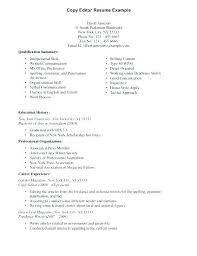 Copy Editor Resume Resume Copy Editor Managing Editor Resume Sample ...