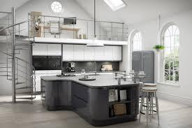 White Gloss Kitchen Worktop Gloss Kitchens Kitchen Creations Leicesterkitchen Creations