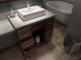 ariel bath roosevelt 97 double sink vanity set in walnut w makeup table