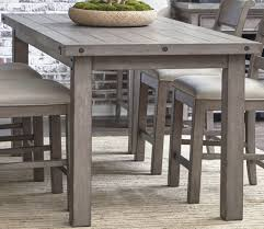 Prospect Hill Gray Rectangular Counter Height Dining Table ...